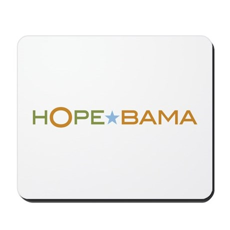 Hope-Bama Mousepad