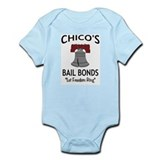 Chico's Bail Bonds Infant Creeper