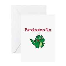 Pamelaosaurus Rex Greeting Card