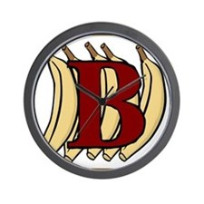 B.....banana Wall Clock