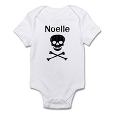 Noelle (skull-pirate) Infant Bodysuit