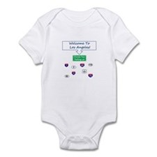 Welcome To Los Angeles Infant Bodysuit
