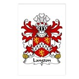 Langton (Sir William-of Henllys, Gower) Postcards