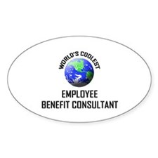World's Coolest EMPLOYEE BENEFIT CONSULTANT Sticke
