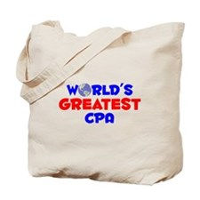 World's Greatest CPA (A) Tote Bag