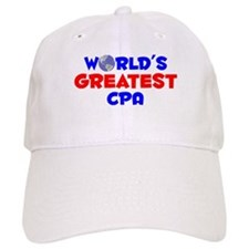 World's Greatest CPA (A) Baseball Cap