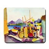 Landscape by Franz Marc Mousepad