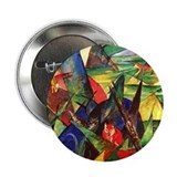 "Foxes by Franz Marc 2.25"" Button (10 pack)"