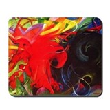 Fighting Forms by Franz Marc Mousepad