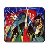 Fable Animals by Franz Marc Mousepad