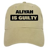 ALIYAH is guilty Baseball Cap