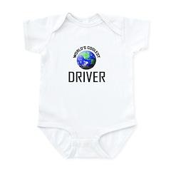 World's Coolest DRIVER Infant Bodysuit