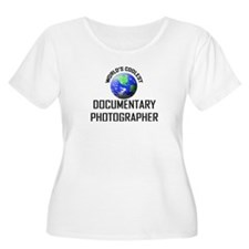 World's Coolest DOCUMENTARY PHOTOGRAPHER T-Shirt