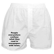 Confused people Boxer Shorts