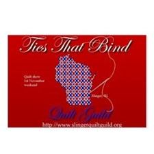 Ties That Bind Quilt Guild Postcards (Package of 8
