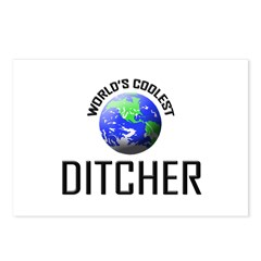 World's Coolest DITCHER Postcards (Package of 8)