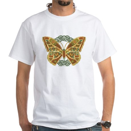 Celtic Butterfly White T-Shirt
