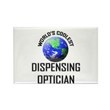 World's Coolest DISPENSING OPTICIAN Rectangle Magn