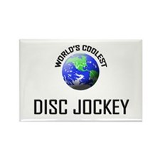 World's Coolest DISC JOCKEY Rectangle Magnet