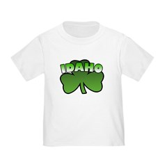 Idaho Shamrock Toddler T-Shirt