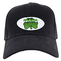 Idaho Shamrock Black Cap
