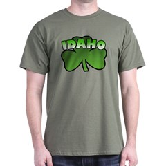 Idaho Shamrock Dark T-Shirt