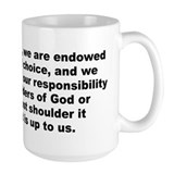 Unique A j toynbee quote Mug