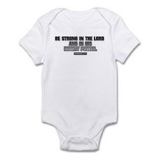 EPHESIANS 6:10 Infant Bodysuit