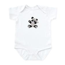 Baby Panda Girl Infant Bodysuit