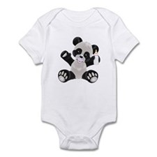 Baby Panda Girl Infant Bodysuit