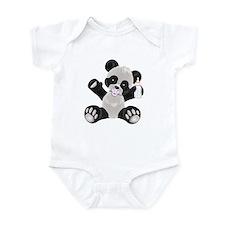 Baby Panda Girl Onesie