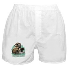 Otterly In Love Boxer Shorts