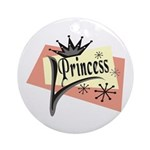 Princess Keepsake (Round)