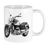 Triumph Rocket III Black #1 Small Mug