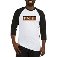 74th Street in NY Baseball Jersey