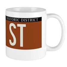 74th Street in NY Mug