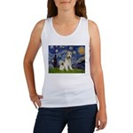 Starry / Fox Terrier (W) Women's Tank Top