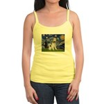 Starry / Fox Terrier (W) Jr. Spaghetti Tank