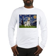 Starry / Fox Terrier (W) Long Sleeve T-Shirt