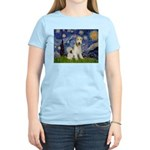 Starry / Fox Terrier (W) Women's Light T-Shirt