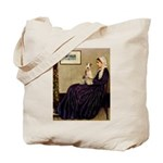 Mom's Wire Fox Terrier Tote Bag