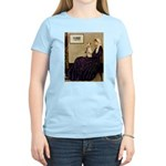 Mom's Wire Fox Terrier Women's Light T-Shirt