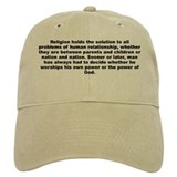 A j toynbee quote Baseball Cap