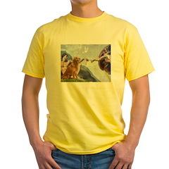 Golden Creation Yellow T-Shirt
