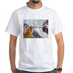 Golden Creation White T-Shirt