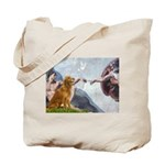 Golden Creation Tote Bag