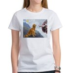 Creation (#2) & Golden Women's T-Shirt