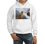 Creation (#2) & Golden Hooded Sweatshirt