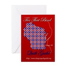 Ties That Bind Quilt Guild Greeting Card