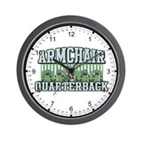 Armchair Quarterback Wall Clock